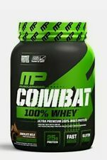 MusclePharm Combat 100% Whey Muscle-Building Whey Protein Powder Chocolate Mi...