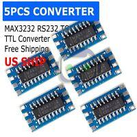 5Pcs Mini RS232 To TTL MAX3232 Converter Adaptor Module Serial Port Board