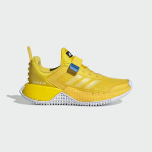 adidas x Classic LEGO Sport Shoes Kids Yellow Trainers