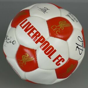L.F.C Autographed Ball, 2009 - 2014 Liverpool Collectable Signed Football  |102