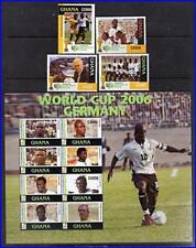 GHANA 2006 WORLD FOOTBALL CUP + M/S MNH CV$18.00