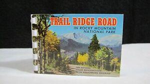 Vintage Trail Ridge Road Rocky Mountain National Park Kodachrome RARE!