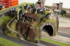 NOCH, TUNNEL WITH WWII MILITARY OUTPOST, SCALE HO
