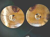 "Sabian - 14"" B8 Pro Medium Hi-Hat Cymbals-Model:31402B-Top & Bottom"