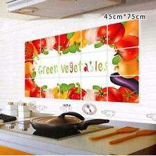 Waterproof Vegetable Kitchen Oil-proof Removable Wall Stickers Art Decor 601