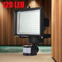120 LED SMD Solar Powered Outdoor Motion Sensor Security Flood Light Spot