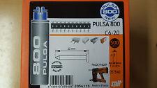 500 CLOUS C6-20 CARTOUCHE DE GAZ DE MARQUE SPIT POUR CLOUEUR SPIT PULSA 800.....