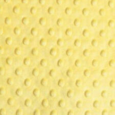 Ribbed Polar Fleece Fabric EM-RibbedPolarFleece-Yellow-M