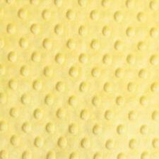 """Dimple Dot Popcorn Cuddle Soft Fleece Fabric 59""""/150cm wide per metre/half"""