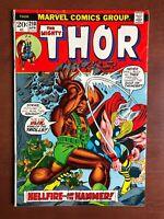 Thor #210 (1973) 5.5 VG Marvel Key Issue Bronze Age Comic Ulik Stan Lee