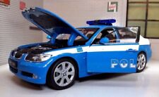G LGB 1:24 Scale BMW 3 Series 330i 22465 Detailed Welly Model Police Polizia Car