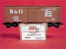 MTL 20346-1 BALTIMORE & OHIO 40' Box Car'Time-Saver Service'#470699 MINT N-SCALE
