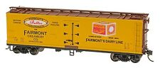 HO Scale Wood Side Refrigerator Car - Fairmont Creamery #30179 - IMRC #47738-05