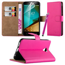Wallet Flip Book Stand View Case Cover for Various Google Mobile PHONES Pink Google Pixel