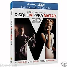 Blu-ray 3D Dial M for Murder + Slipcover  [ English + Spanish + Portuguese ]