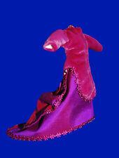 Dolls House VELVET & SILK PERIOD DRESS - 12th Scale PINK
