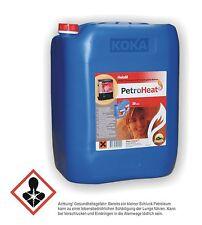 20 Liter Petroleum Heizmittel für Petroleumofen - schwefelarm u. geruchsneutral