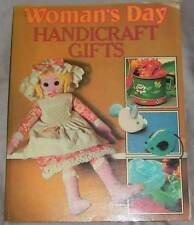 "VINTAGE ""WOMAN'S DAY HANDICRAFT GIFTS"" RETRO  CRAFT BOOK   (#X/603)"