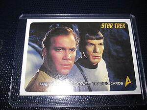 STAR TREK THE ORIGINAL SERIES PROMO CARD MINT NEUF P1