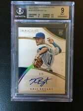 2015 Immaculate Collection Holo Gold #148 Kris Bryant Rookie Auto /5 BGS 9 Cubs