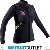 GUL Womens Response 3mm Flatlock Neoprene Wetsuit Jacket - Black