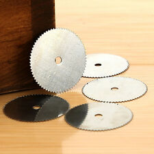 5× 32mm Steel Wood Cutting Wheel Saw Blade Disc Dremel Rotary Tool Craft Use Pop