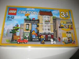 LEGO CREATOR 3-IN-1 SET 31065 PARK STREET TOWNHOUSE - BRAND NEW