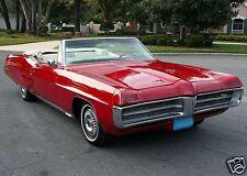 1967 Pontiac Grand Prix Convertible, Red/White, Refrigerator Magnet, 40 MIL