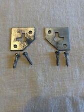 Pair of DYNACO A25 OEM Speaker Mounts/Brackets 2-Pieces Includes Original Screws
