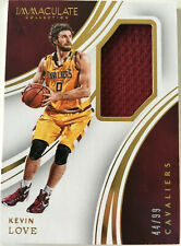NBA Basketball - KEVIN LOVE Panini Immaculate Collection - Jersey Card No.44/99