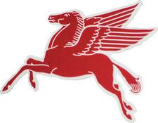 Mobile Red Pegasus Decal Pair