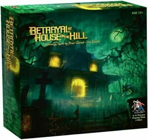 Betrayal At The House On The Hill Strategy Board Game Sydney stocks