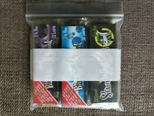 Skunk Brand 6 Sealed Flavored Papers w/ Free Sealed Raw Scraper Free Shipping!
