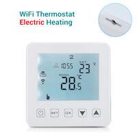 WiFi Thermostat Electric Heating Smart Digital Wireless Controller Alexa Room