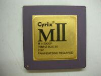 Cpu Cyrix MII-300GP socket 7
