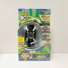 Ben 10 Deluxe Omnitrix Alien Sounds Toy Watch NEW Fast Shipping