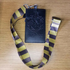 Harry Potter Hufflepuff Scarf Lanyard with card holder