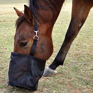 C--BRN Cashel Slow Feed Top Load Horse Hay Bag Brown