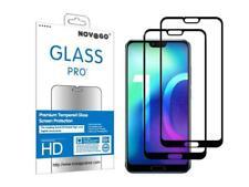 Huawei Honor 10 (Pack de 2) Films Protection écran en Verre trempé solide (Noir)