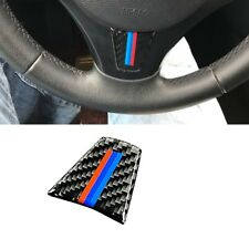 Car Interior Decor Steering Wheel Cover 3Color Sticker Cover For BMW E90 E92 E93