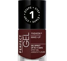 FASHION MAKE -UP - PERFECT GEL vernis à ongles effet gel N° 08 PRUNE NF