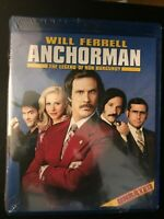 Anchorman The Legend of Ron Burgundy Will Ferrell Blu-Ray New Sealed DVD