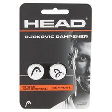 HEAD DJOKOVIC TENNIS SMORZATORE/SHOCK ABSORBER 1 PAIR per pacchetto di