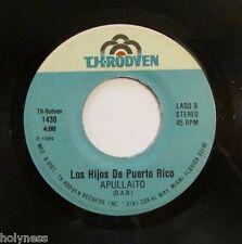 LOS HIJOS DE PUERTO RICO / LA MORENA / APULLAITO / 45 RPM / EX