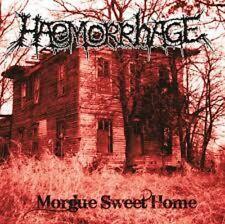 HAEMORRHAGE - Morgue Sweet Home LP Carcass Napalm Death Repulsion Necrony Nasum