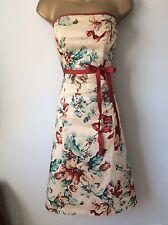 Coast Vintage Style Dress Sz 14 vgc