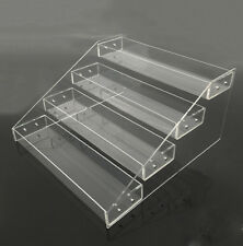 FIG-DSW: Clear Acrylic 4 Tier Display Shelf for Action Figure, Toy, Cosmetics
