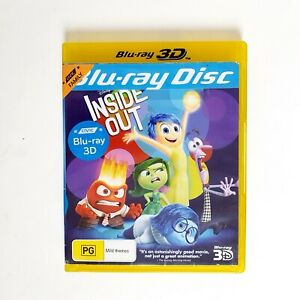 Inside Out Movie 3D Bluray Movie Free Postage Blu-ray - Kids Animation Family