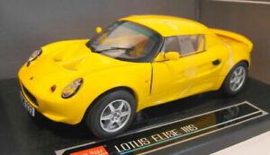Sunstar 1/18 Scale 1033 Lotus Elise 111S Hard Top Norfolk Yellow