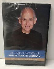 Dr. Amen's Advanced Brain Health Library; 6 Top Programs+CD (2017) DVD 180530